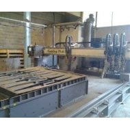 Flame-cutting machine - cutting metal plates of 3 meters wide - CMA Group